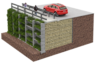 Reinforced Earth® Green Wall System