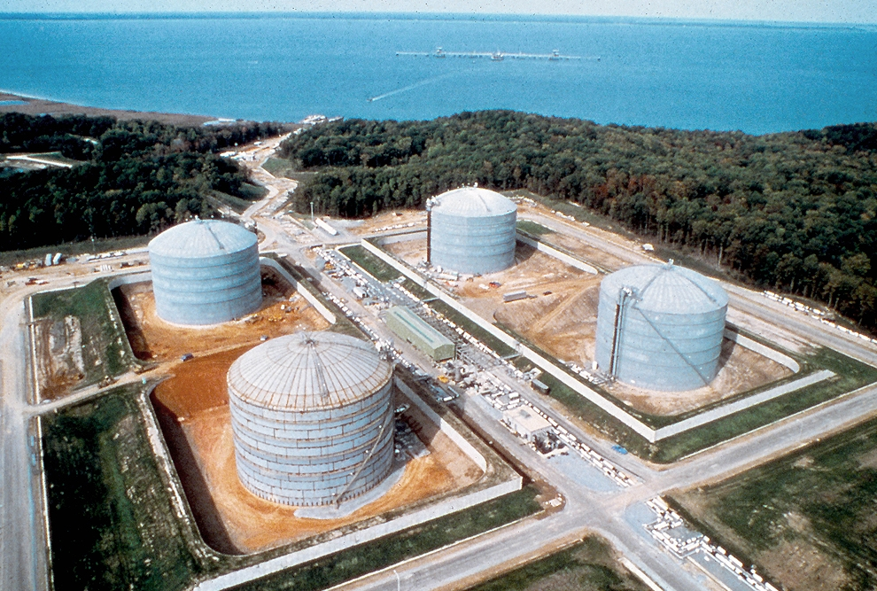 Cove Point LNG Containment Terminal