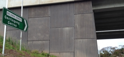 Gerringong Upgrade Reinforced Earth® TerraPlus® Retaining Walls