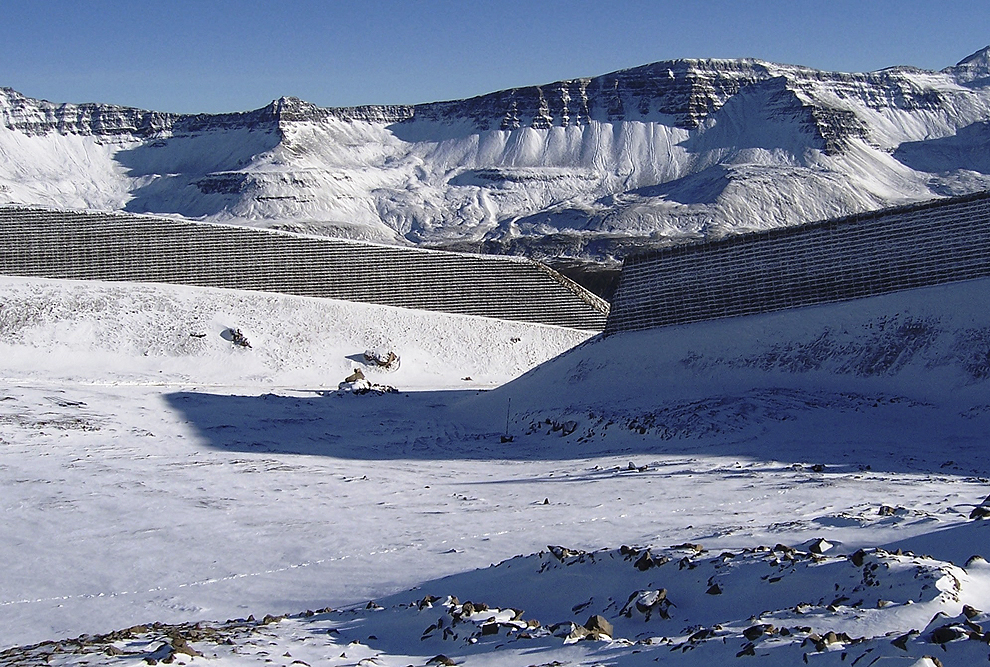 TerraTrel® Avalanche Barriers, Iceland